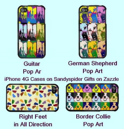 Sandyspider Gifts has iPhone 3G and 4G cases. Click on source link to see.