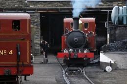The backbone of the Isle of Man Railway is a fleet of fifteen Victorian Beyer-Peacock 2-4-0 tank locomotives.   David Lloyd-Jones 2010