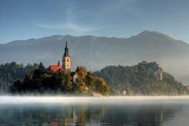 Stunning View Over Lake Bled