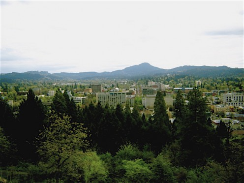 Downtown Eugene, Oregon