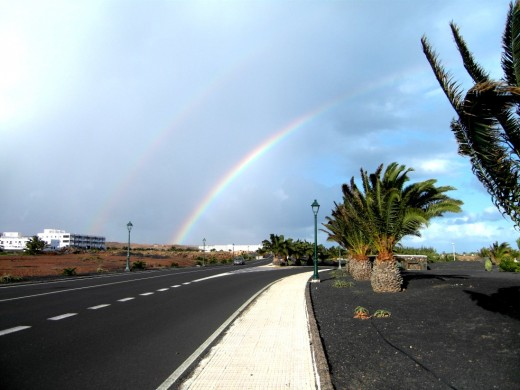 Rainbows over canaries