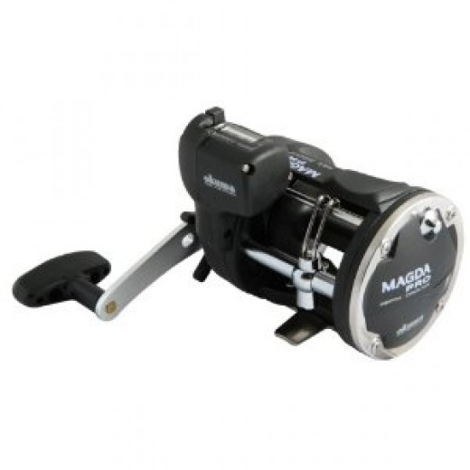 Okuma Left Hand Star Drag Magda Reel
