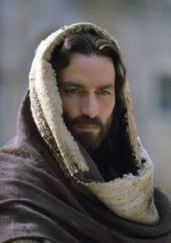"Jim Caviezel in ""The Passion of the Christ."""