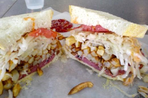 Primanti Bros sandwich