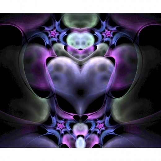 Clairvoyant Heart Fractal