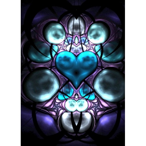 Enchanted Heart Fractal