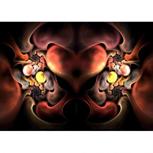 Heart of The Dragon Fractal