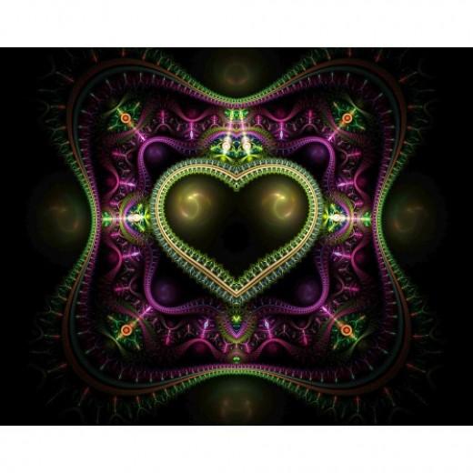 Royal Heart Fractal
