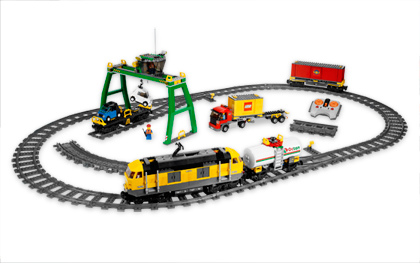 Lego City 7939 Cargo Train & Accessories