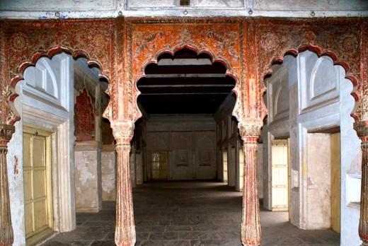 Durbar Hall inside Rani Mahal