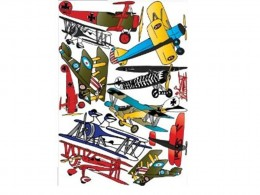 Vintage Airplane Wall Stickers- Decals- Wall Décor by Presto Wall Decals