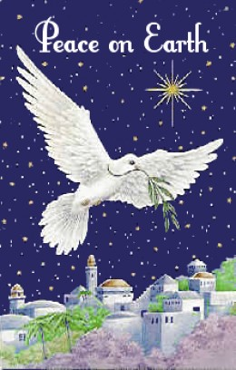 Peace everywhere on earth, and to every person a happy new year!