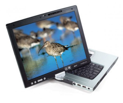 a tablet PC