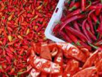 Red chilly, normally refers to the big one (top right chilly).