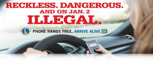 Reckless, Dangerous, and on January 2 illegal in Delaware!