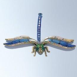 Dragonfly Decoration Figurine Swarovski Crystals