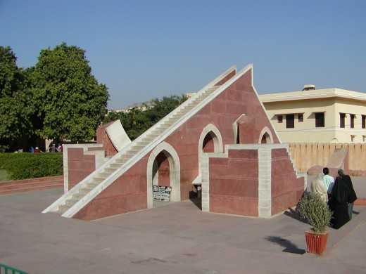This is another astronomical - astrological observatory in India.