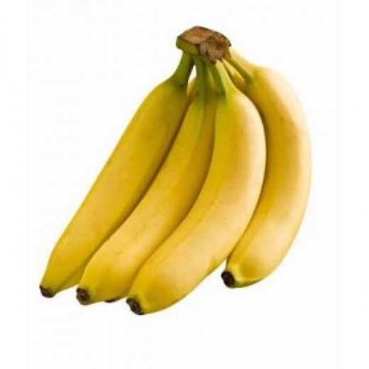 "A picture of the fresh bananas that Amazon does not have: ""Yes! We have no bananas today, but here's what they would look like, if we did have any."""