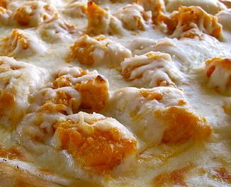 Turkey pizza is delicious