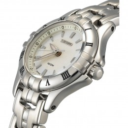 Seiko Women's Dress Silver-Tone Watch