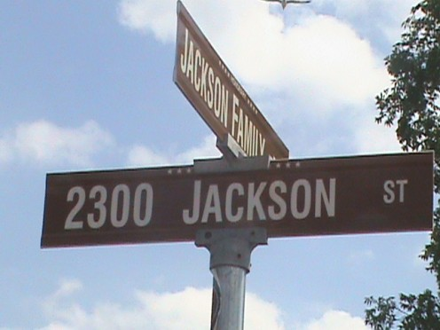 One of the most famous addresses in America. 2300 Jackson Street, Gary, Indiana