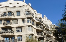 One of many of Gaudi's architecture