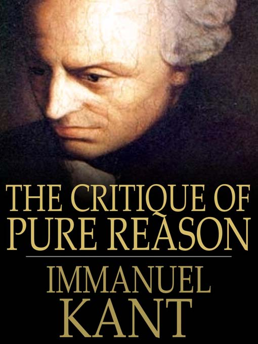 Kant's influential work.