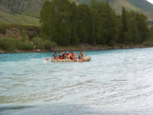 Rafting and other adventure trips provide lots of fun and excitement!