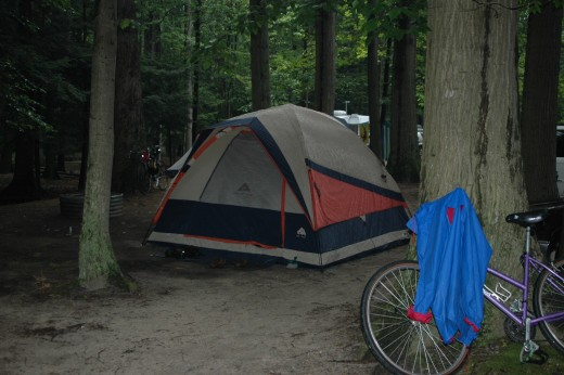 Camping and other outdoor activities are wonderful for families with kids.