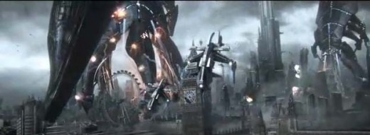 Mass Effect 3 Reapers Attacking Earth