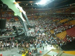 U2 tour Australia. 360 tour in  Brisbane Australia in 2010
