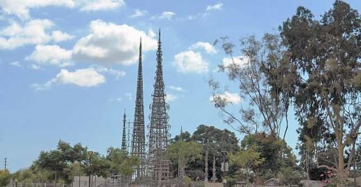 Sam Rhodia's Watt's Tower