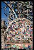 The art  out of waste at Watts Tower
