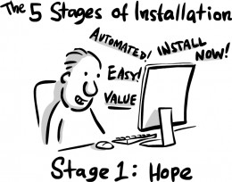 Hope springs eternal, even though it shouldn't. Nor should you click on 'install'.