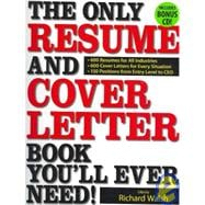 400 Cover Letters and CV's for all Industries and Positions