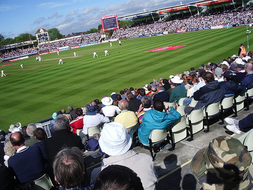 The Ashes hosted regularly in Edgbaston