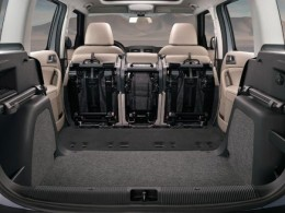 Skoda Yeti luggage space