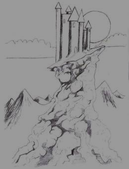 Drawing a castle - Watch as it unfolds before your eyes.