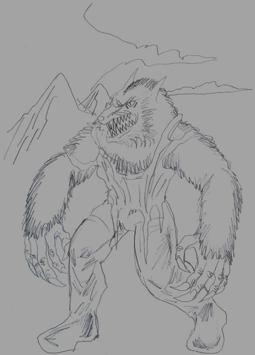 Draw werewolves.