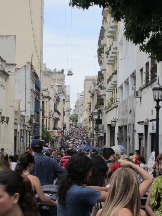 San Telmo Sunday Market on Defensa