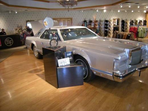 Actual 1978 Lincoln driven by Jim Davis