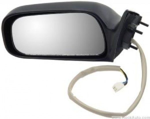 New aftermarket replacement mirror - unpainted