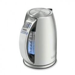 Cuisinart Perfec Temp Stainless Electric Kettle with 6 Preset Temperature Settings