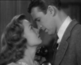 George and Mary Bailey played by James Stewart and Donna Reed