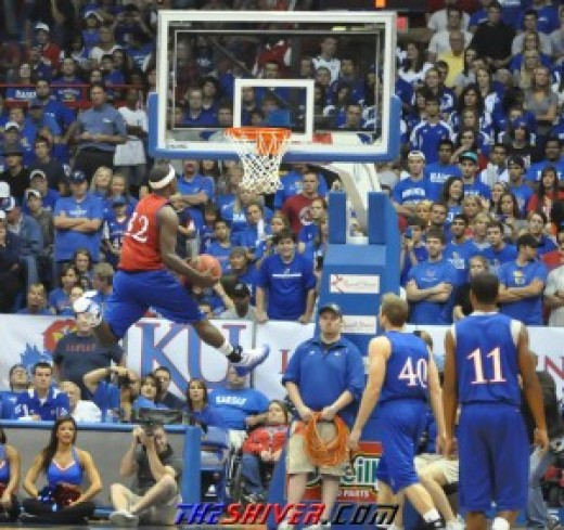 Josh Selby's stay at Kansas could be very brief.