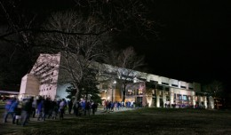 One of the greatest venues for college basketball is Allen Field House on Naismith Drive at KU
