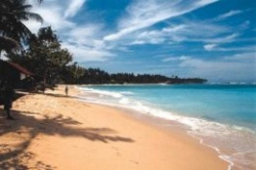 Beautiful beaches in Sri Lanka,one of the top tourist attractions