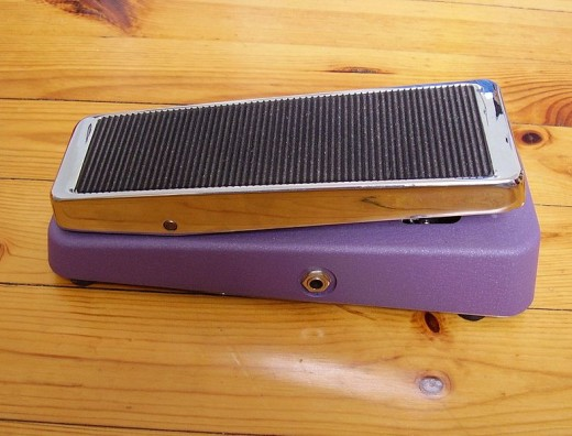 Wah-wah pedal. Photo by Foolk
