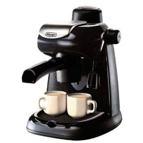 #5: DeLonghi EC5 Steam-Driven 4-Cup Espresso and Cappuccino Maker