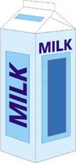 Quart milk carton